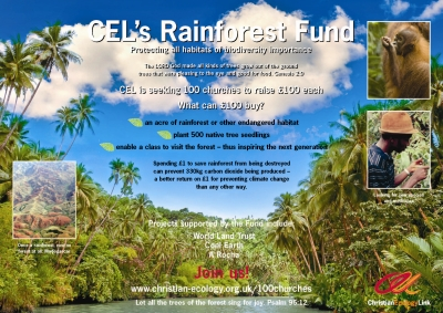 Rainforest fund centre spread