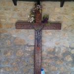 cross with symbols