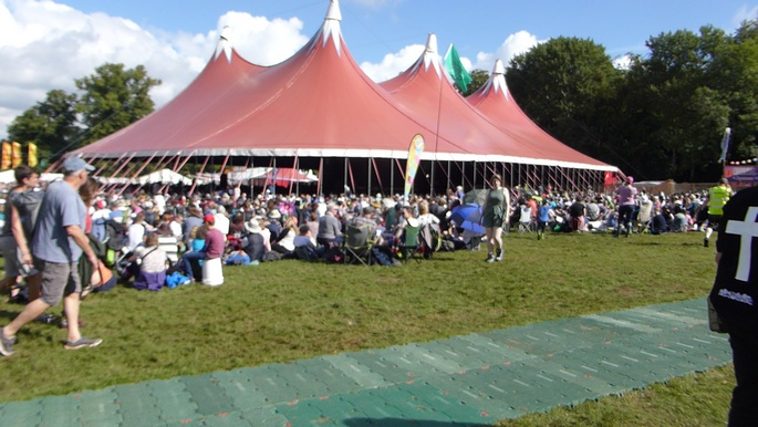 The Sunday Service 2016 at the main marquee